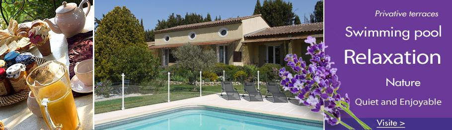 Guesthouse with Swimmingpool in Provence